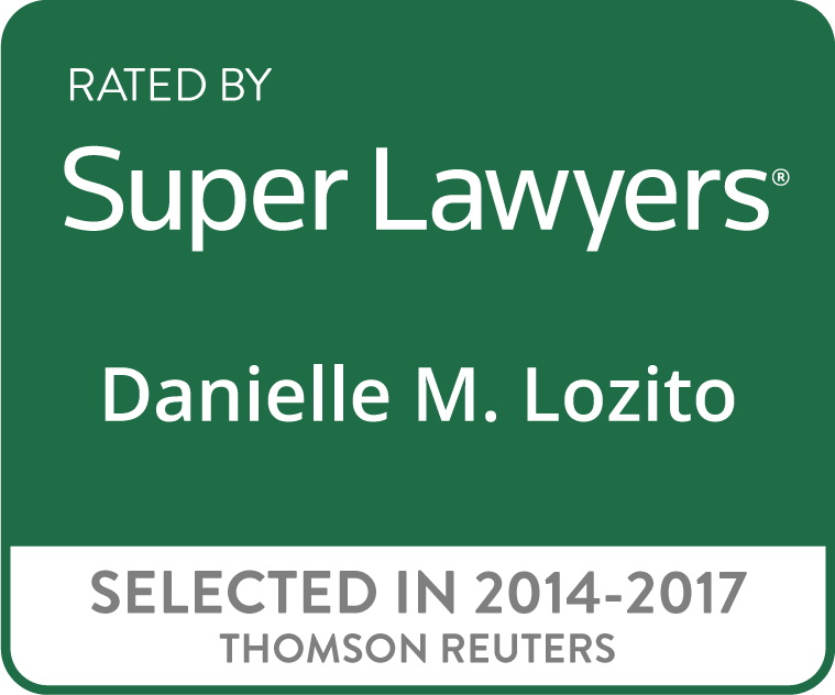 Lozito Law, LLC – Super Lawyers Badge, Credit Cards Accepted